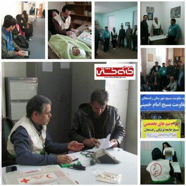 ارائه خدمات پزشکی و دندانپزشکی رایگان توسط بسیج جامعه پزشکی رفسنجان/تصاویر
