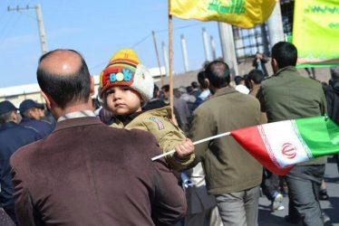 راهپیمایی ۲۲ بهمن در قاب دوربین شهروند خبرنگاران خانه خشتی