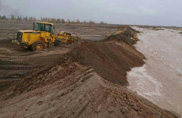 آماده باش کامل نیروهای سازمان عمران برای هدایت مسیر آب رودخانه گیودری
