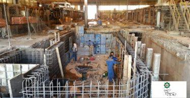 پروژه ساخت و تأمین ماشین رباتیک جداکننده کاتد مس در کارخانه مس سرچشمه رفسنجان / عکس