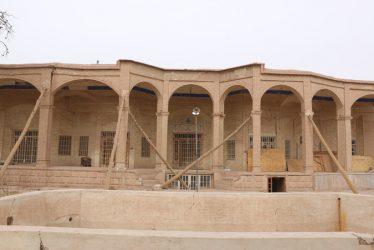 عمارت باقری رفسنجان زخم خورده غفلت مسئولان / تصاویر
