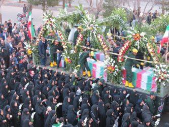 عرض ارادت مردم رفسنجان به مقام شامخ شهدای گمنام و شهید غواص / تصاویر