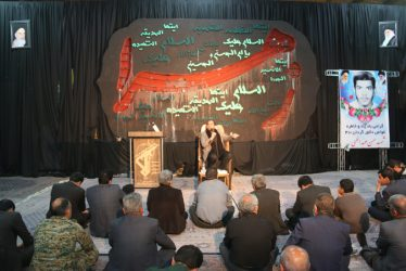 مراسم بزرگداشت شهید غواص حسن عبداللهی در رفسنجان برگزار شد / تصاویر