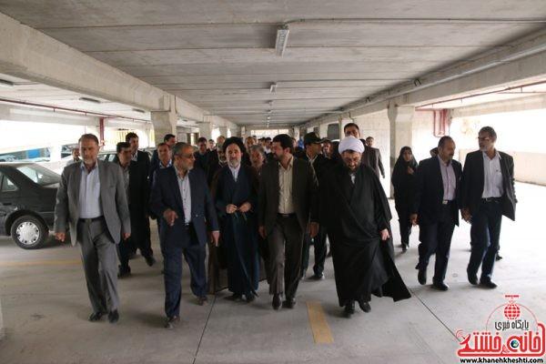 افتتاح و بهره برداری از پروژه های عمرانی شهرداری رفسنجان در روز ولادت حضرت فاطمه(س) با حضور مسئولین شهرستان رفسنجان