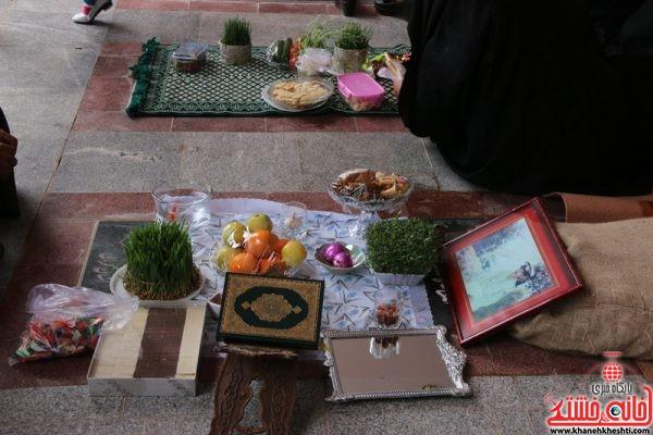 مراسم تحویل سال نو 1396 در گلزار شهدای (عباس آباد ) رفسنجان با حضور خانواده شهدا و مردم