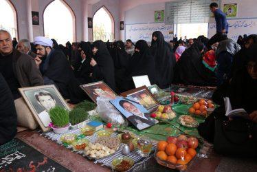 مراسم تحویل سال نو در گلزار شهدای رفسنجان برگزار شد / تصاویر