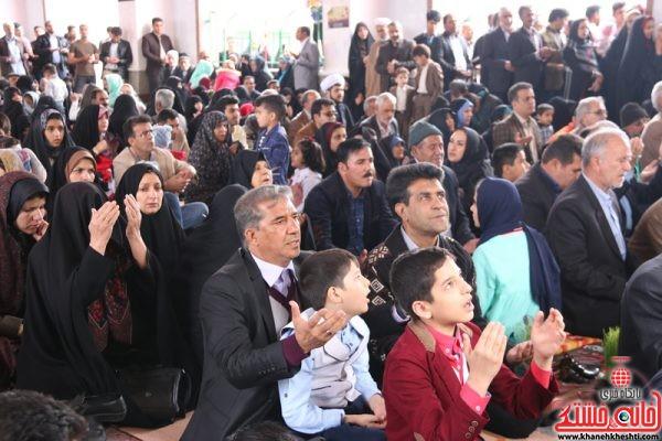 حضور مهندس محمدی انارکی نماینده مردم رفسنجان و انار در مجلس شورای اسلامی مراسم تحویل سال نو 1396 در گلزار شهدای (عباس آباد ) رفسنجان
