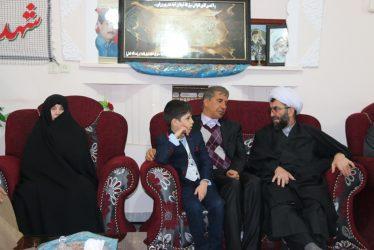 دیدار نماینده مردم رفسنجان و انار در مجلس شورای اسلامی با خانواده شهید عبدالهی/تصاویر