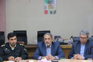 دیدار نوروزی جانشین نیروی انتظامی رفسنجان با شهردار /تصاویر