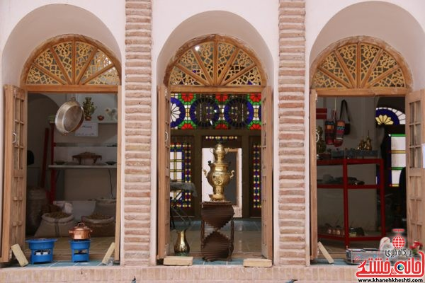 بزرگترین خانه خشتی جهان خانه حاج آقا علی در قاسم آباد رفسنجان نوروز 1396