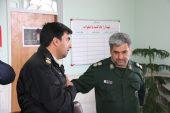 جانشین فرمانده انتظامی رفسنجان به دیدار فرمانده سپاه رفت / عکس