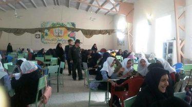 برگزاری دهمین دوره لیگ علمی پایا حوزه بسیج دانش آموزی حضرت زینب(س) رفسنجان