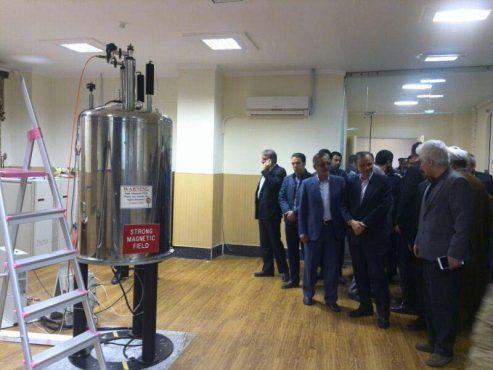 اولین دستگاه NMR منطقه جنوب شرق در دانشگاه ولیعصر(عج) رفسنجان راهاندازی شد / تصاویر