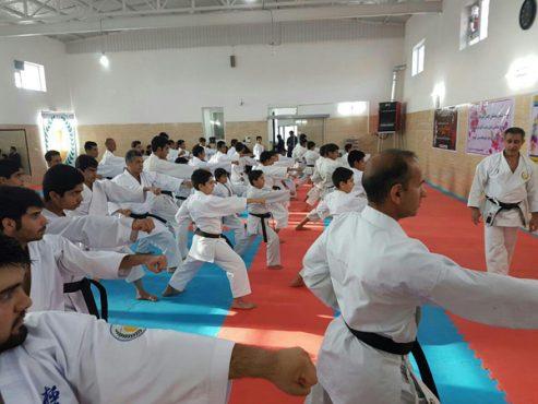 رفسنجان میزبان اردوی تیم ملی نونهالان کاراته ایران