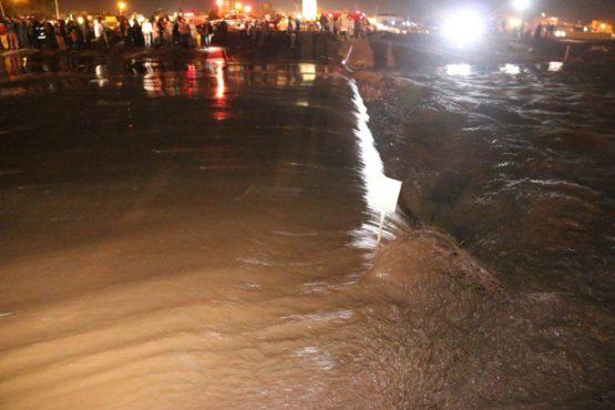 رودخانه شور به سلامت از رفسنجان عبور کرد / تصاویر