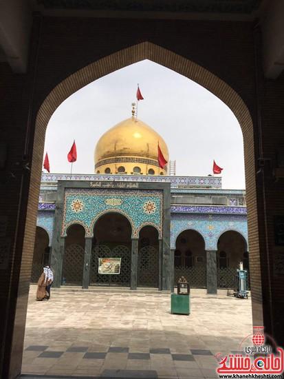 تصاویر اختصاصی خانه خشتی در حرم حضرت زینب(س) و حضرت رقیه(س) در سال 96