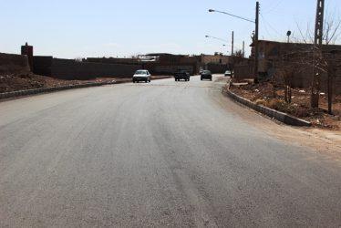 احداث جاده ابراهیم آباد با اعتبار بیش از 10 میلیارد ریال توسط شهرداری رفسنجان
