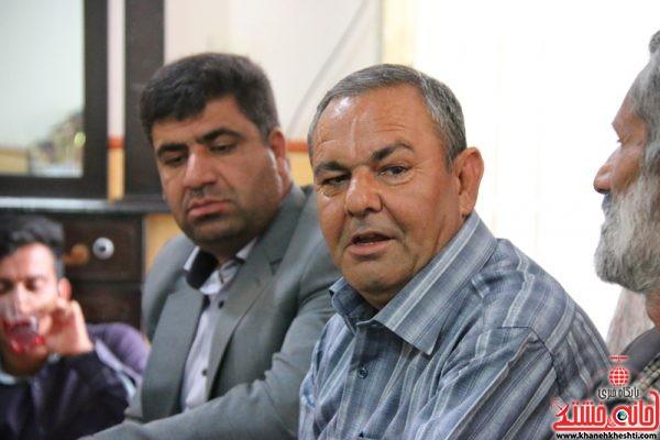 حسین محمدی نسب جانباز 70 درصد رفسنجانی