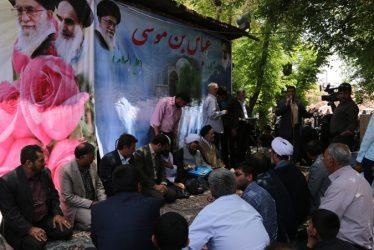 جشن عید مبعث در شاهزاده عباس برگزار شد / تصاویر