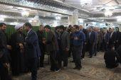 مراسم گرامیداشت همسر فرمانده نیروی انتظامی شهرستان رفسنجان برگزار شد