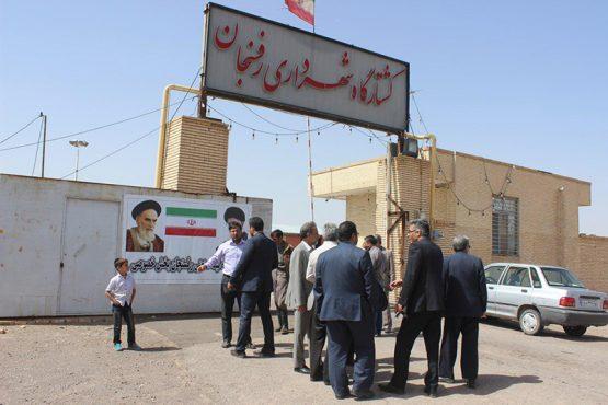بازدید اعضای شورای شهر رفسنجان از کشتارگاه؛ محله اسدآباد و پارک بانوان این شهر / تصاویر