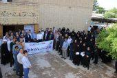 پیاده روی کارکنان دانشگاه علوم پزشکی رفسنجان به مناسبت هفته سلامت / تصاویر