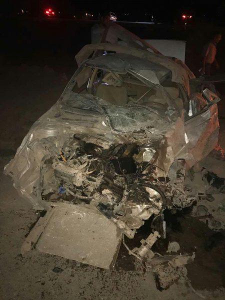کشته و زخمی شدن۱۲ نفر بر اثر تصادف خودروی حامل اتباع غیرمجاز در رفسنجان