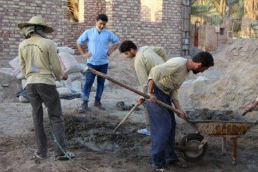 نوروز ۹۶ با طعم خدمت برای بچه های گروه جهادی شهید ثقفی رفسنجان / تصاویر