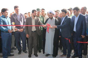 افتتاح سالن ورزشی روستای ناصریه رفسنجان با اعتبار ۵ میلیارد ریال / تصاویر