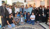 دیدار صمیمی دانشجویان دانشگاه کار با جانباز ۷۰ درصد رفسنجانی /تصاویر