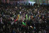 شب تولد آقا امام زمان(عج) در مسجد مقدس جمکران / تصاویر اختصاصی