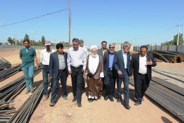 بازدید اعضای شورای اسلامی شهر رفسنجان از پروژه زیرگذر