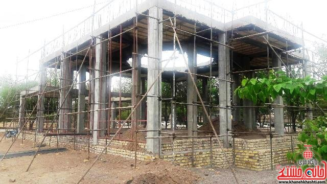 شروع به کار احداث مسجد پارک وحدت