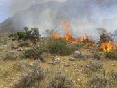 احتمال وقوع آتش سوزی در مناطق کوهستانی و گردشگری