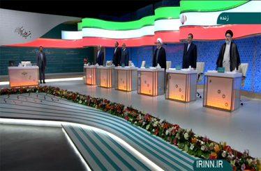 رئیسی: آقای روحانی! نزدیکترین فرد به شما دارد فساد میکند؛ چرا برای پیگیری مقاومت میکنید /قالیباف: آقای جهانگیری! با بانک برادر خودتان برخورد کنید/ روحانی: این دولت بازار صادرات را با برجام باز کرد
