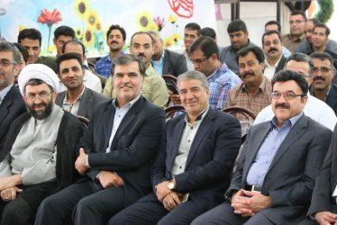 مراسم تجلیل از کارگران رفسنجان برگزار شد / تصاویر