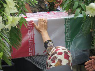 برنامه تشییع و خاکسپاری شهید محمد صادقی در رفسنجان