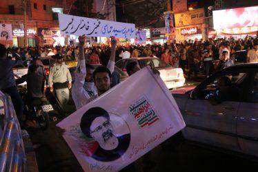 امشب ؛ میدان شهداء رفسنجان ؛ رای ما سید ابراهیم رئیسی / گزارش تصویری