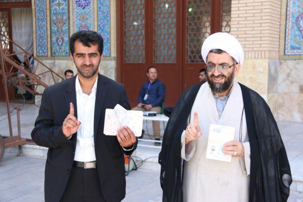 انتخابات96 در رفسنجان-شعبه مسجد جامع