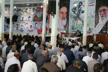 برگزاری مراسم بزرگداشت شهید مدافع حرم حامد بافنده در رفسنجان / گزارش تصویری