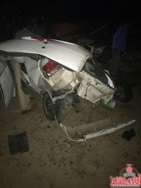8 کشته در حادثه واژگونی رانا در جاده سرچشمه به رفسنجان