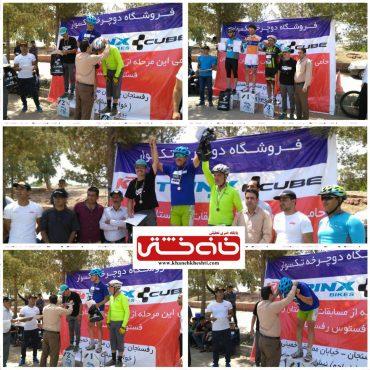 مسابقه دوچرخه سواری استان در رفسنجان برگزار شد + نتایج