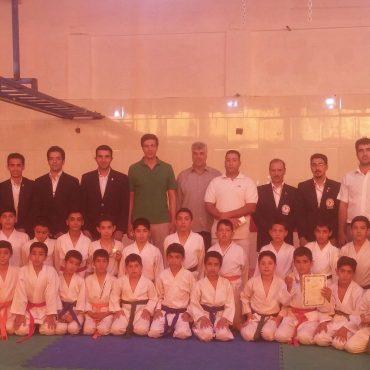 مسابقات کاراته شهرستان رفسنجان ویژه استعدادیابی هنرجویان برگزار شد