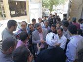 تجمع اعتراضی سپرده گذاران موسسه اعتباری کاسپین در رفسنجان / تصاویر