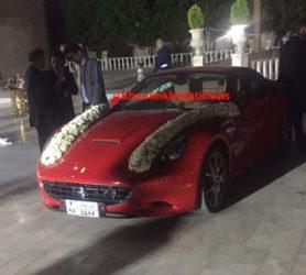ماشین عروس فراری در رفسنجان + عکس