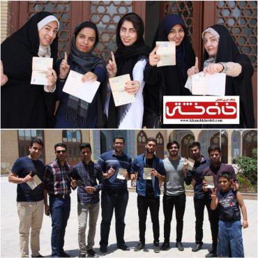 شور انتخاباتی در رفسنجان / گزارش تصویری(2)