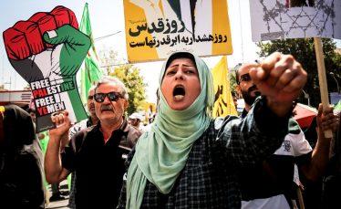 حضور حداکثری در راهپیمایی روز جهانی قدس ، حمله موشکی دیگری بر قلب اسرائیل است