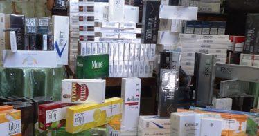 کشف ۱۷۱ هزار نخ سیگار قاچاق در رفسنجان