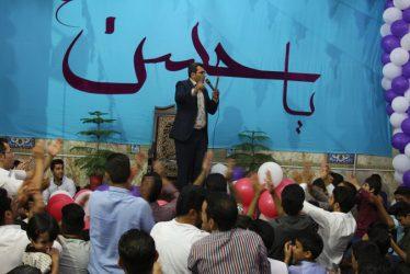 جشن میلاد کریم اهل بیت(ع) در حسینیه امام حسن مجتبی(ع) رفسنجان / گزارش تصویری