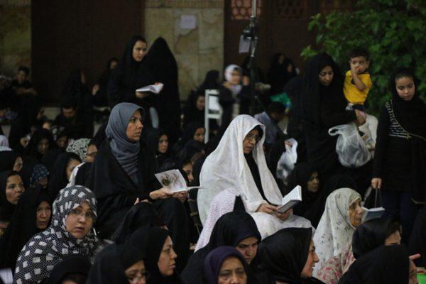 اولین شب قدر ماه مبارک رمضان 96 در رفسنجان-مسجد جامع